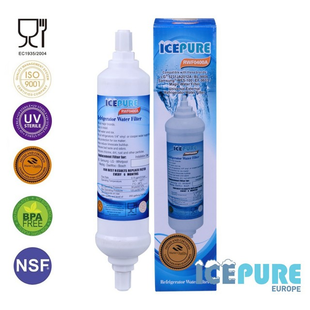 Icepure RWF0400A Waterfilter RFC0400A